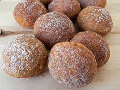 Churro Donut Holes - only 50 calories, 1g of fat, and 100% whole grain - Fuel for Wellness
