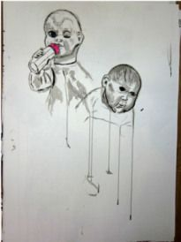 Visual Studies and Life Drawing Life Drawing, Study, Ink, Dolls, Drawings, Baby Dolls, Studio, Doll, Investigations