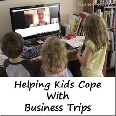 Helping kids cope when a parent is away.