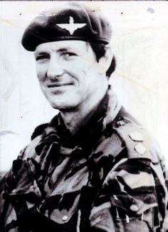 Colonel 'H' Jones who was posthumously awarded the Victoria Cross after he died during a one-man charge in the Battle of Goose Green in 1982