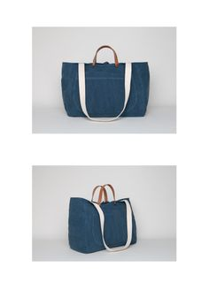 Spring Summer 14 Canvas Bag with Leather Straps. http://www.beatrizfurest.com/