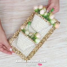 Diy Crafts Gift Box, Diy Crafts For Home Decor, Craft Projects For Kids, Jute Crafts, Hand Embroidery Videos, Newspaper Crafts, Bottle Crafts, Flower Crafts, Ideas