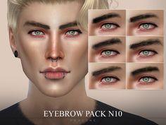Pralinesims' Eyebrow Pack N10