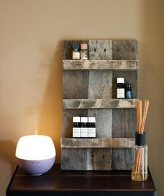 Essential Oil Storage// Gift// Gifts For by FernwehReclaimedWood