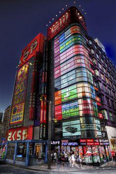 Shinjuku at Dusk by WilliamBullimore, via Flickr