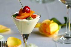 Εύκολη μους γιαούρτι με μπανάνα και ακτινίδιο ή με φρούτα της επιλογής σας!