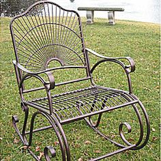Metal Porch Rocker I want
