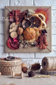 Handmade decor for home Pine Cone Decorations, Handmade Decorations, Christmas Decorations, Handmade Christmas Crafts, Christmas Diy, Autumn Decorating, Fall Decor, Deco Orange, Xmas Frames
