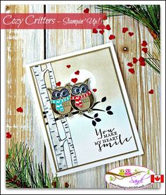 Owl Always Love you with Cozy Critters by Sandi @ stampinwithsandi.com