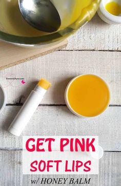 Get pink soft lips with honey lip balm. I have experimented with making lip balm with raw honey and clarified butter (ghee). And guess what…! It is super successful DIY lip balm. #lipbalm #pink #softlips Homemade Lip Balm, Diy Lip Balm, Natural Lip Balm, Be Natural, Lip Moisturizer, Moisturiser, Lip Care Tips, Diy Beauty Projects, Diy Beauty Makeup