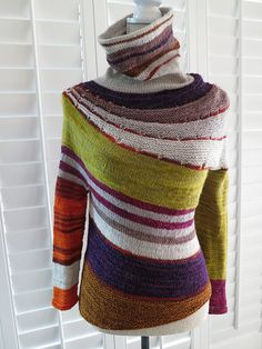 Enchanted Mesa Pullover By Stephen West - Purchased Knitted Pattern - (ravelry)