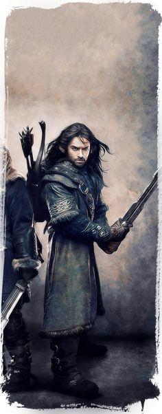 The Dwarves Of The Hobbit on Behance