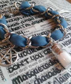 Supernatural Inspired Bracelet di FollowTheGrace su Etsy