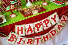 @Katie Schmeltzer Nichols, thought of you when I saw this. Cathy told me Caiden wanted a Christmas bday party...that is so cute!