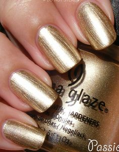 China Glaze ~ Passion. Just bought this & it's already my new favorite color!!