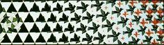 """M.C. Escher """"Metamorphosis II"""""""