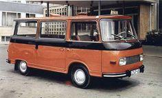 1969 Barkas B1000 Feischer kisbusz