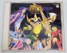 Saint Seiya TV Original Soundtrack 4 JAPAN CD 32CC2224 1988 ANIME JUMP MANGA