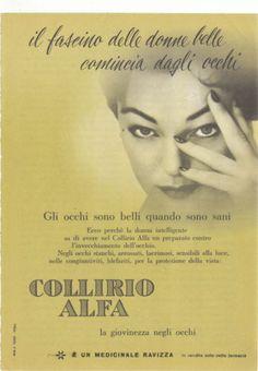 Collirio Alfa - 1958