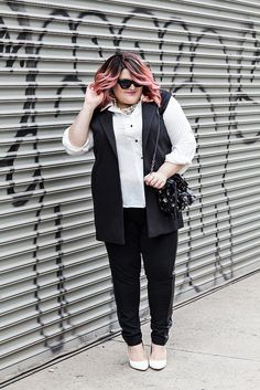 Fashion writer Nicolette Mason got a perfect baby pink ombre with #ManicPanic Mixer/Pastel-izer and Cotton Candy Pink hair dye. Source: http://www.nicolettemason.com/2014/04/style-day-in-life-with-mynt-1792.html