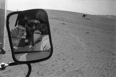 Nikos Economopoulos // Self portrait -Yemen, ar-Ruba al-Khali desert.