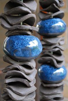 Anne Deltour (BE) #ceramist #potter #turner #candlesticks #decorativeobjects #uniquepieces #lamps #lights #customized #lampshades #ceramic #clay #terracotta #crafts #decoration #interiordesign