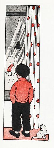 Rie Cramer Het jaar rond editie 1978, ill maartse buien