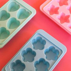 Cute Shapes Ice Cube Trays ($7)
