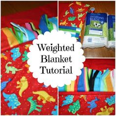 Sewing For Kids How-to-make-weighted-blanket-tutorial-Autism - Make your own weighted blanket DIY for a fraction of the price. Easy step by step instructions. Used for Anxiety, Sensory Processing Disorders, and Autism.