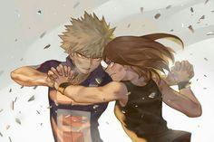 My Hero Academia (僕のヒーローアカデミア) - Ochako Uraraka vs. Boku No Hero Academia, My Hero Academia Memes, Hero Academia Characters, My Hero Academia Manga, Fanart, Boku No Hero Uraraka, Series Manga, Bakugou And Uraraka, Naruto E Boruto
