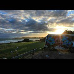Erinnerungen... #Australien  #GreatOceanRoad #Trip #Bus #Sonnenuntergang #Fernweh #Backpack #WantBack #NoFilter by tabze_