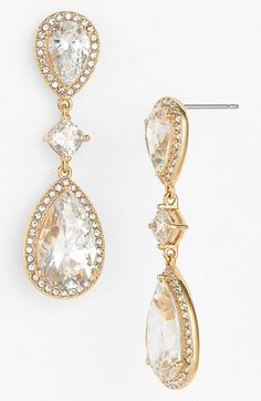 Free shipping and returns on Nadri Cubic Zirconia Drop Earrings at Nordstrom.com. The impressive sparkle and timeless shape of these drop earrings will have you feeling like a classic beauty at your next special occasion.