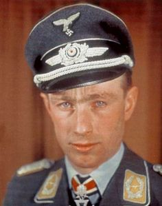 ✠ Helmut Lent (13 June 1918 – 7 October 1944) killed in a flying accident on a routine transit flight,
