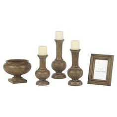 5-Piece Rosanna Accessory Set in Brown