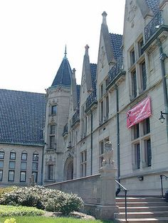 Albright Memorial Library, Scranton, Pennsylvania, Chatauesque French Eclectic