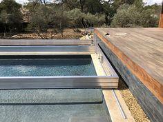 Backyard Pool Designs, Backyard Landscaping, Swimming Pool Construction, Pool House Plans, Deck Railings, Railing Ideas, Swiming Pool, Pool Installation, Luxury Pools