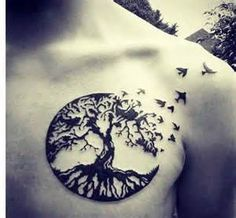 fox crow and tree of life tattoo - Bing Images