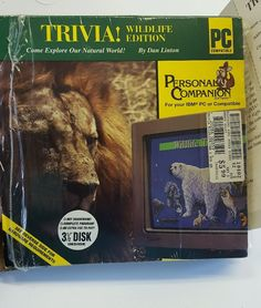 """Wildlife Edition PC Personal Compatible 3 1/2"""" disk in box IBM"""
