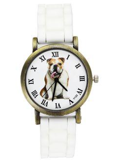 Bulldog Dog Sport Silicone Watch – Dogsbuzz