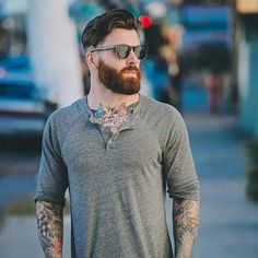 """#classicmenlife#cml#class#brave#bearded#love#inkedmodel#inked#amazing#vikingstyle#best#beard#hot#beards#beardlife#fashion#beardoil#insta#beardedman#beardman#tattoo#model#style#beardlove#instabeard#barber#pogonophile"""