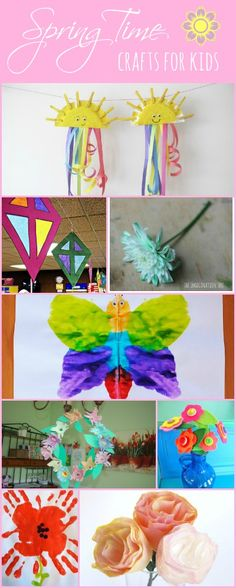 Spring Time Crafts for Kids