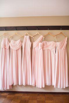 Mix-match Bridesmaid Dresses  