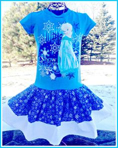 girls FROZEN Princess Anna Disney fabric by BlossomBlueBoutique, $38.99