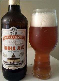 Samuel Smith IPA, British Beer, English Beer, British Ale