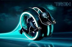 Lan Tron Legacy Bike- i want this like crazzy Futuristic Motorcycle, Futuristic Cars, Tron Art, Design Transport, Tron Light Cycle, Tron Bike, Monocycle, Future Transportation, Concept Motorcycles