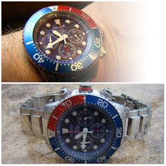 SEIKO SOLAR Diver's Watch & Chronograph 2000s