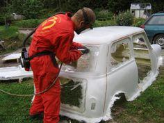 Morris Cooper S Replica - Mini Saloons - The Mini Forum Mini Cooper Custom, Mini Cooper Classic, Classic Mini, Karting, Vespa, Go Kart Frame, Go Kart Plans, Replica Cars, Car Gadgets