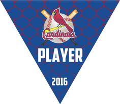 Custom baseball banners, triangle baseball pennants. Free shipping.