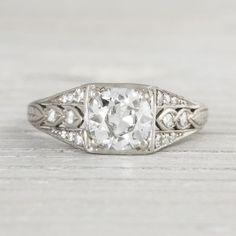 63 Best Vintage Modern Engagement Rings Images On Pinterest Modern