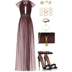 709 by julialeskiv on Polyvore featuring Burberry, Alaïa, Yves Saint Laurent, Forever 21, Michael Kors and Kate Spade